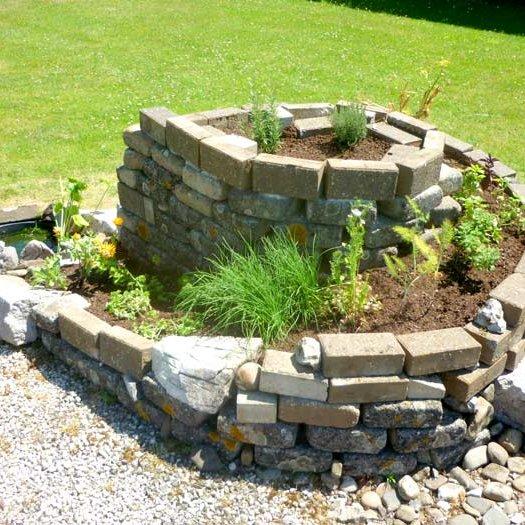 aménagement privé particulier permaculture potager vert jardinier